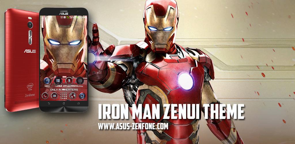 Themes] Iron Man ZenUI Theme for ASUS Zenfone 2 ~ Asus