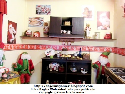 Foto de la Cocina en la casa de Papa Noel (Santa Claus). Foto de la Cocina de Papa Noel de Jesus Gomez