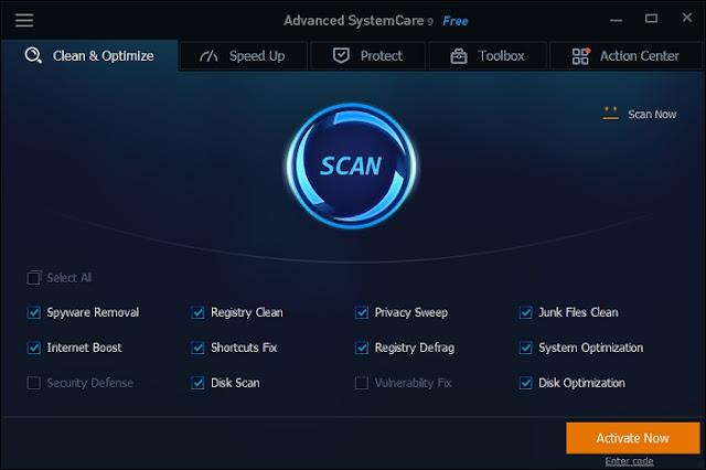 Gratis Lisensi Advanced SystemCare 9 Pro Seharga $50