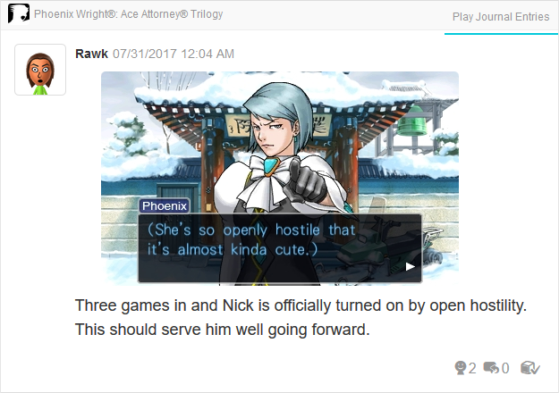Phoenix Wright Ace Attorney Trials and Tribulations Franziska so openly hostile kinda cute