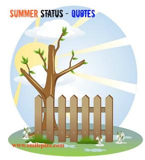 summer status, vacation status for whatsapp, facebook.