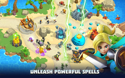 Wild Sky Tower Defense (MOD, Free Shopping/No CD) APK For Android