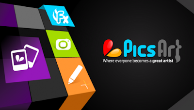 La aplicación de diseño PicsArt, tecnogeek