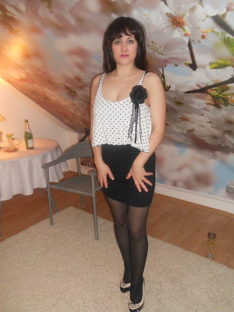 Fashion Tights Skirt Dress Heels  My Amateur Pantyhose -3567