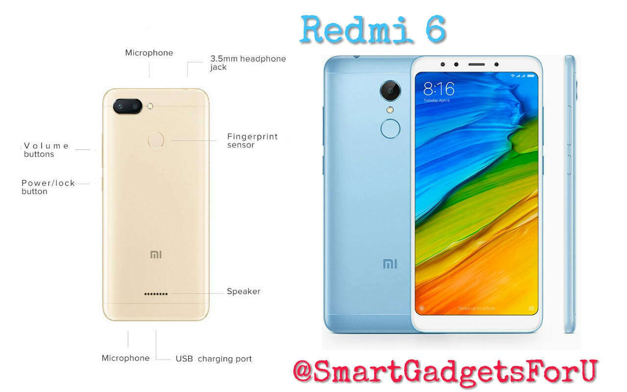 Xiaomi's budget smartphone launches Redmi 6 in India, Learn Features