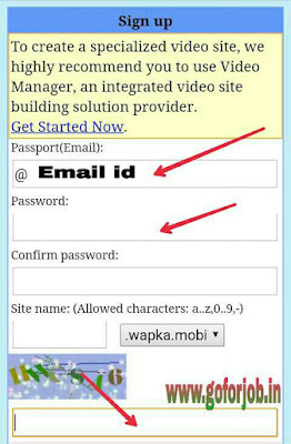 make free website on wapka