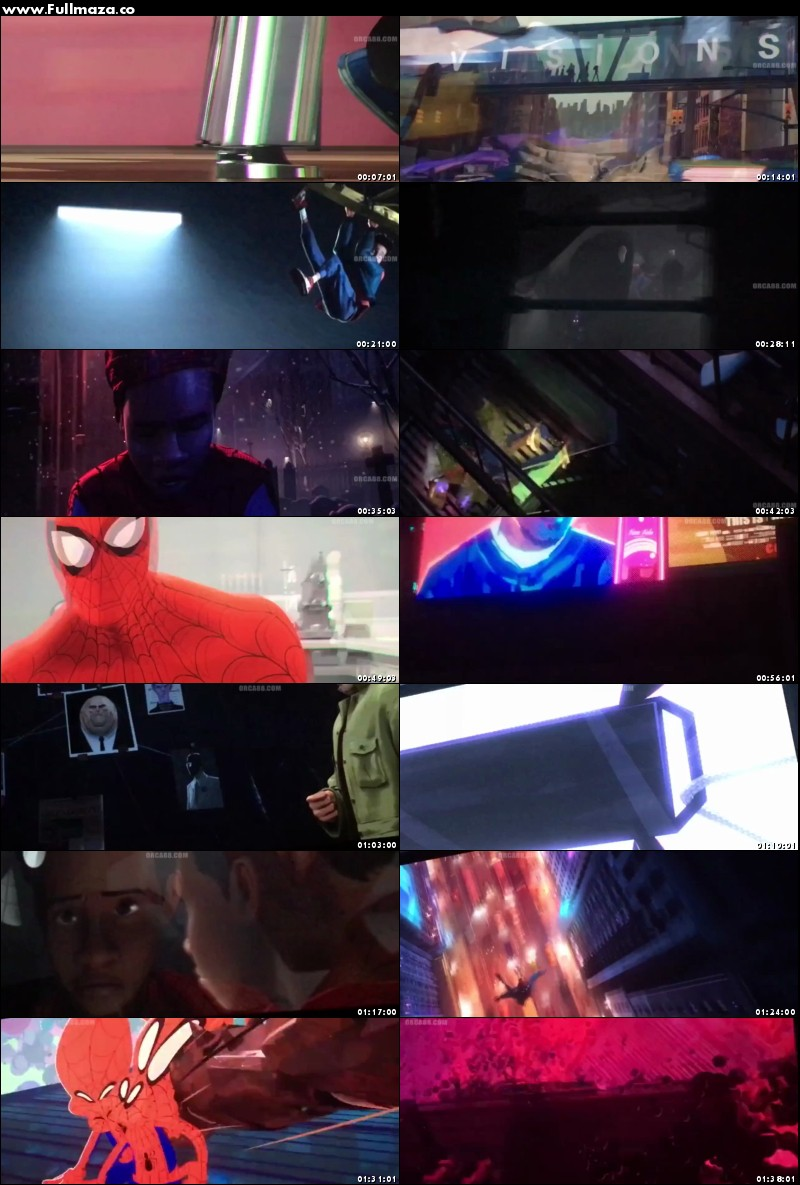 Spider Man Into The Spider Verse 2018 Hindi Dual Audio 480p Hdts