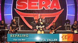 Lirik Lagu Kepaling (Dan Artinya) - Via Vallen