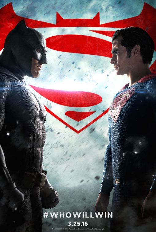 Batman v Superman film poster