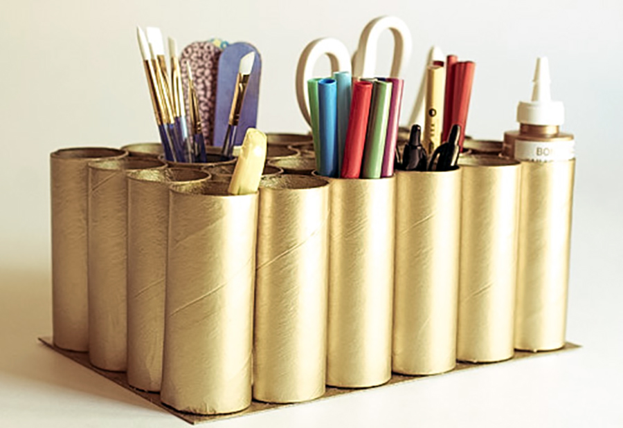 Ideias de como reaproveitar rolos de papel higiênico