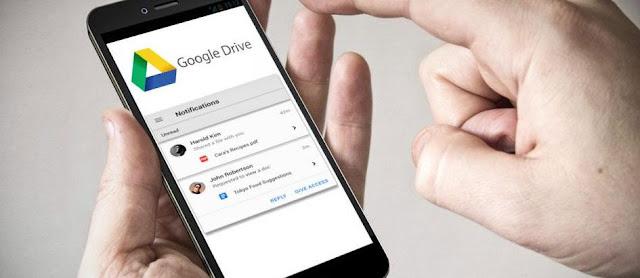Google Drive dengan Fitur AI