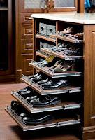 ideas para organizar el calzado para hombres