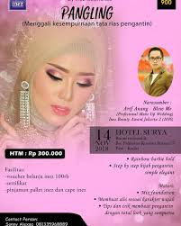 flayer-Workshop-Rias-Pengantin-rainbow -Arif-Anang-Inez-Cosmetic
