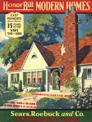 Honor Bilt Modern Homes by Sears Roebuck 1930 catalog