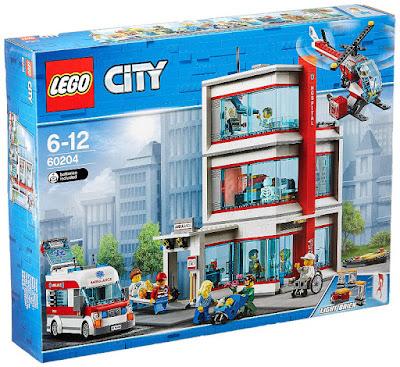 Toys : juguetes - LEGO City 60204 Hospital de LEGO® City  COMPRAR ESTE JUGUETE EN AMAZON ESPAÑA
