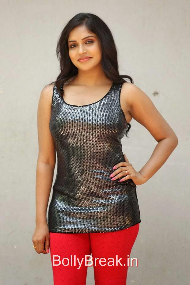 Karunya Photoshoot Stills, Actress Karunya Hot Pics  in Black Top