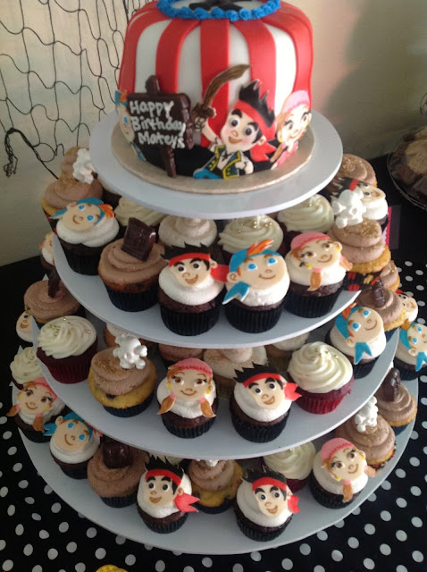 jake and the neverland pirates cupcakes - photo #32