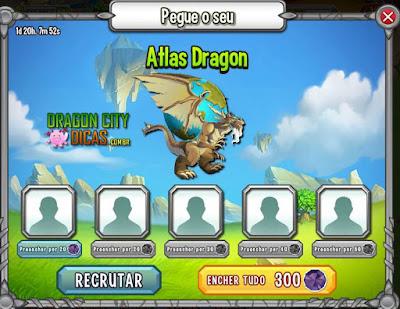 Ganhe o Dragão Atlas!