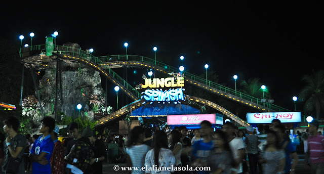 Jungle Splash, Star City