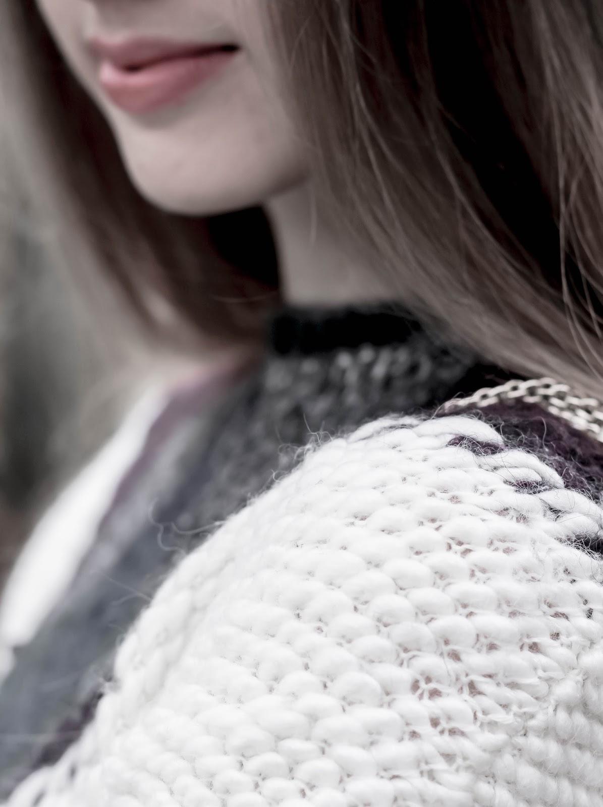 Winter chunky knit Reiss Jemima womens jumper
