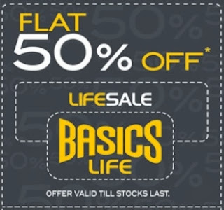 Dhamaka Festive Offer: Extra 30% Off (No Min Purchase) | Flat 50% Off on  Rs.3500 & above | Flat 40% Off on Rs.2500 & above | Flat Rs.400 Off on Rs.999 & above at Basicslife