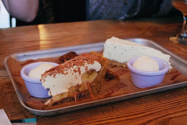 Dessert - Cue Barbecue Aberdeen