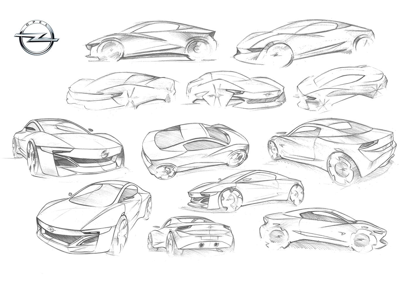 Opel Tigra Redesign By Kamil Podolak