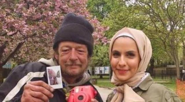 أرادت إلتقاط صورة في بلد أجنبي.. لكن ما قاله لها هذا المشرد غيّر حياته إليكم ماذا فعل هذا المشرد للفتاة.. وكيف ردّت بدورها