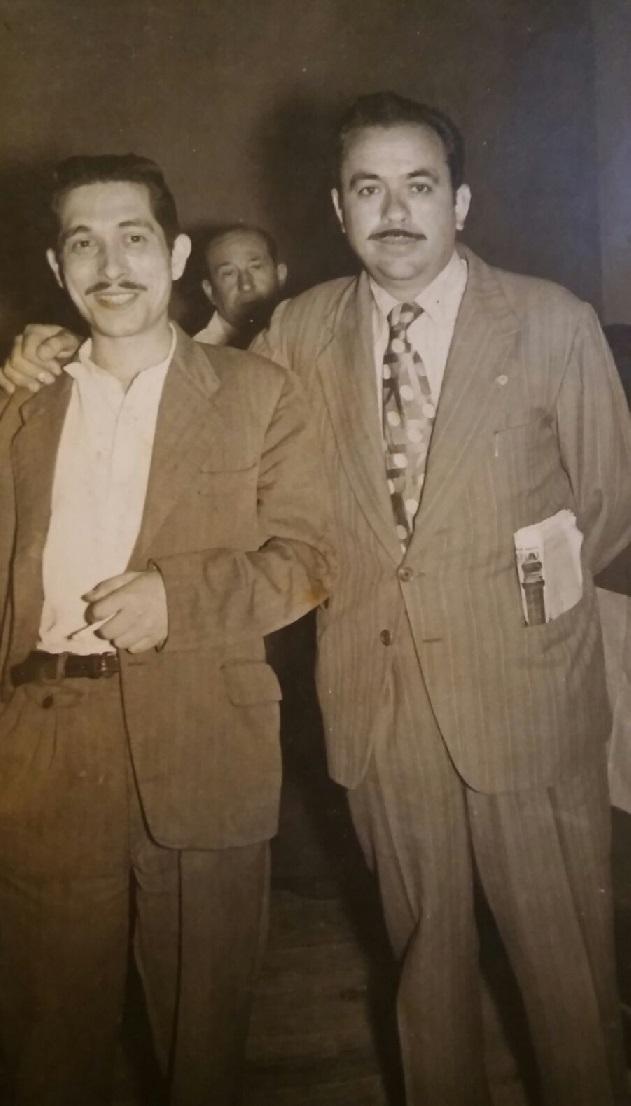 Los ajedrecistas Alejandro Beltrán y Estanislau Puig Ambrós