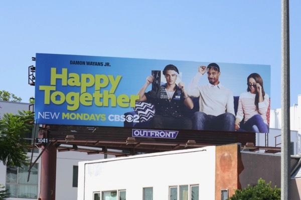 Happy Together series premiere billboard