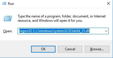 TéléchargerD3dx9d_25.dll Fichier Gratuit Installer