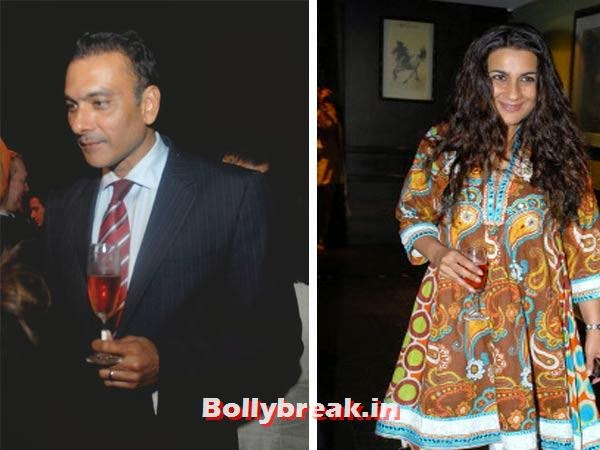 Ravi Shastri and Amrita Singh:  This was one brief  romance that went along with candid admissions of passion in the 1980s.  However, they went their separate ways soon after.