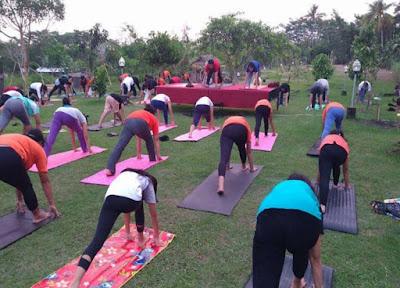 Yoga Gratis di Ubud