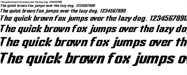 Font chữ nghiêng đẹp