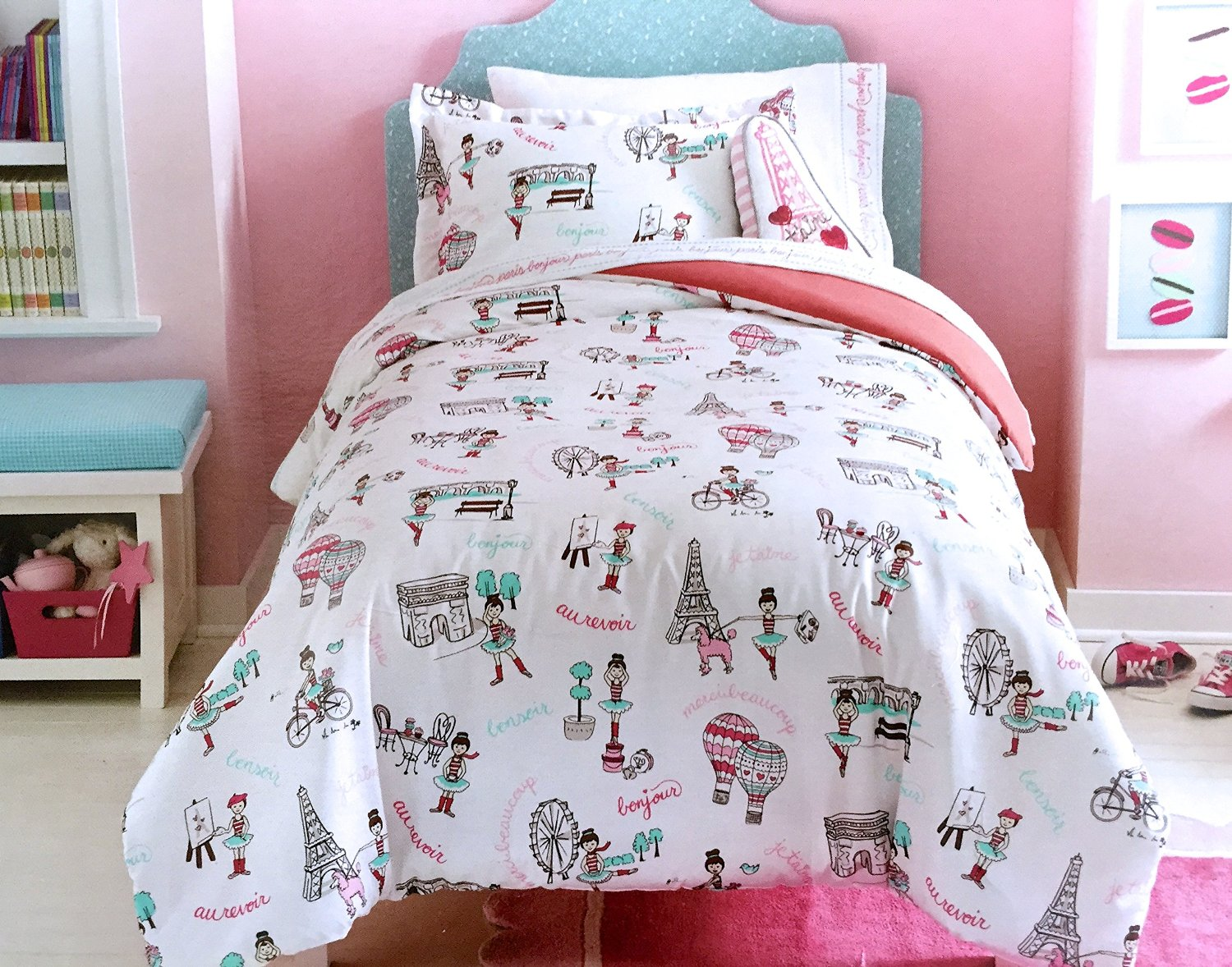 Perfect Paris & Eiffel Tower Themed Bedding for Less GT12