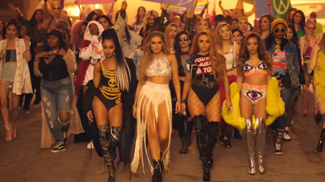 Little Mix mostrou pra gente que não precisa ser dos Estados Unidos pra pisar no Donald Trump