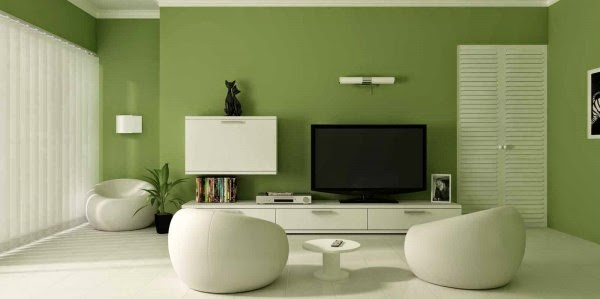 Kombinasi warna cat ruang tamu yang cantik
