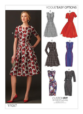 Vogue9267 Dress Sewing Pattern