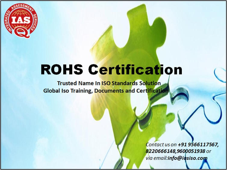 ISO CERTIFICATION: HOW TO GET ROHS CERTIFICATION?