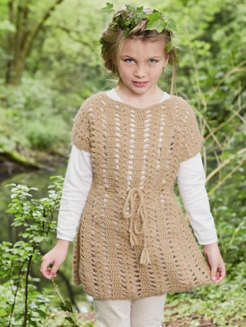 Crochet Lace Tunic - Free Pattern
