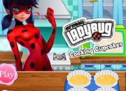 Lladybug Cooking Cupcakes juego