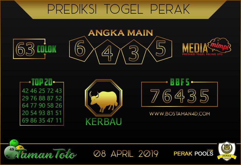 Prediksi Togel PERAK TAMAN TOTO 08 APRIL 2019