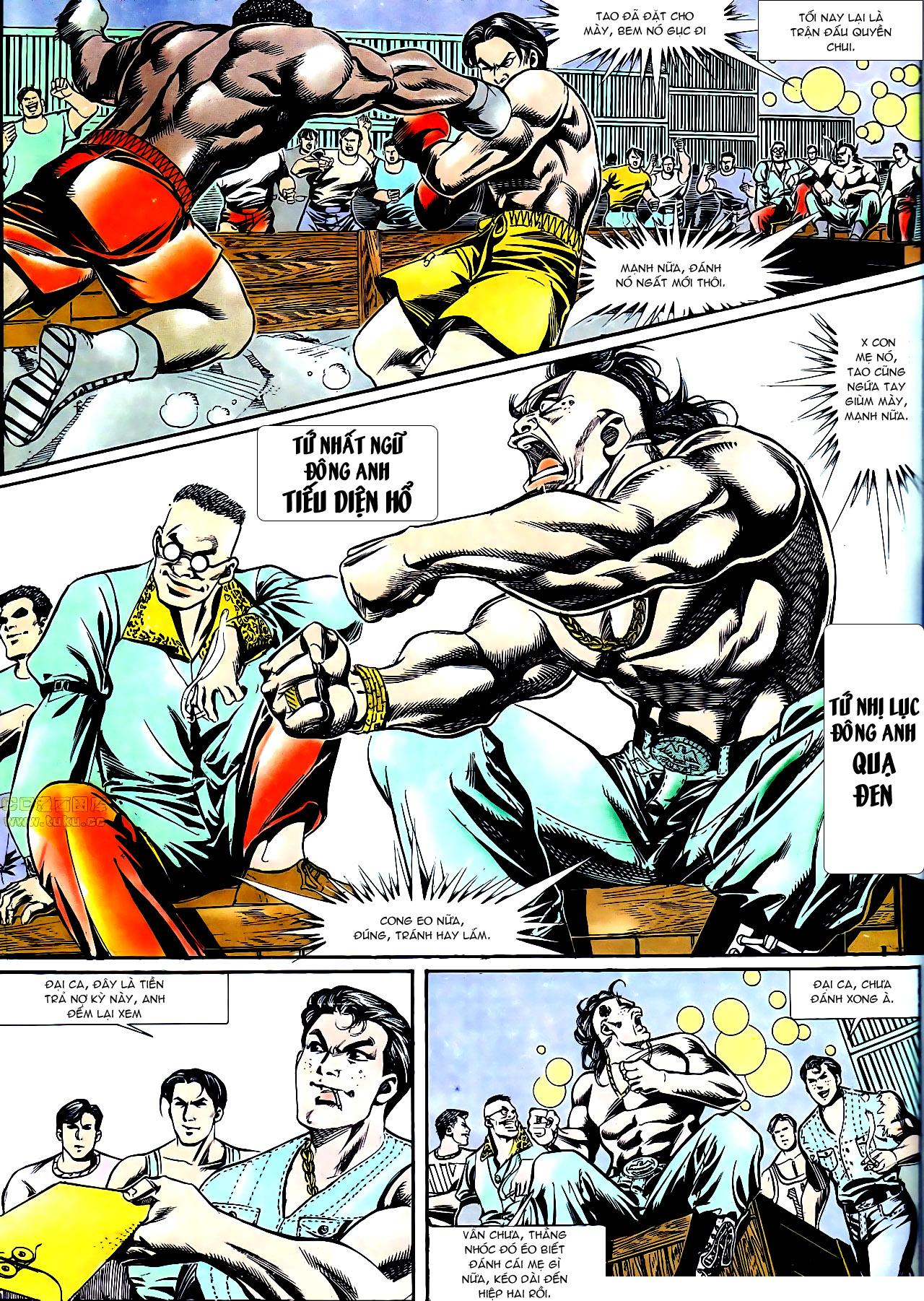 Người Trong Giang Hồ chapter 158: bang phái thanh trừng trang 21