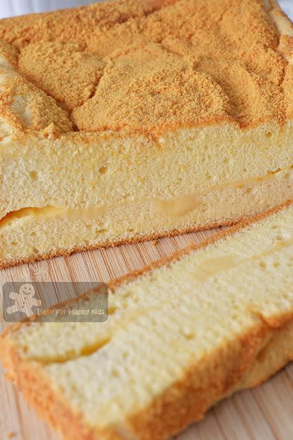 Taiwanese old school sponge cheese cake