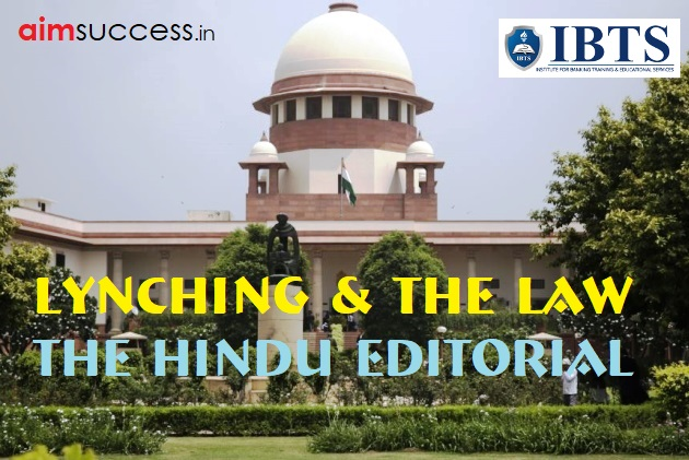 Lynching & The Law: The Hindu Editorial