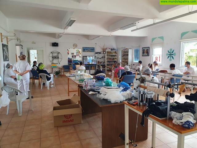 El Cabildo mantiene la formación sobre higiene y seguridad laboral para el personal de la Residencia de Pensionistas y del Hospital de Dolores