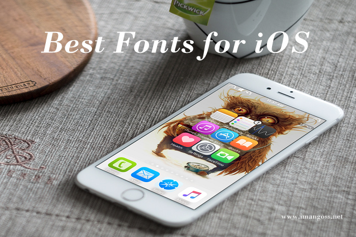 Here I have listed the Top 10 Best Custom Font for your iOS device that you will ever find.