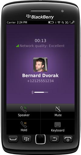 Viber para BlackBerry con llamadas VoIP gratis esta casi listo. ¿Quieres probarlo? La tan esperada actualización de Viber para realizar llamadas ya esta muy cerca de llegar a todos en el BlackBerry World. Hoy la empresa lanzo una actualización via OTA versión 2.4.017 BETA que ya incluye la opción de realizar llamadas a otros usuarios de Viber en otras plataformas. LO NUEVO: Llamadas gratis a Wi-Fi y 3G! (OS 5 + OS 7/7.1) Mejoras de rendimiento para OS 5El envío de pegatinas es ahora más rápido que nuncaCorrección de errores* Los mensajes pueden utilizar su plan de datos Sistema operativo