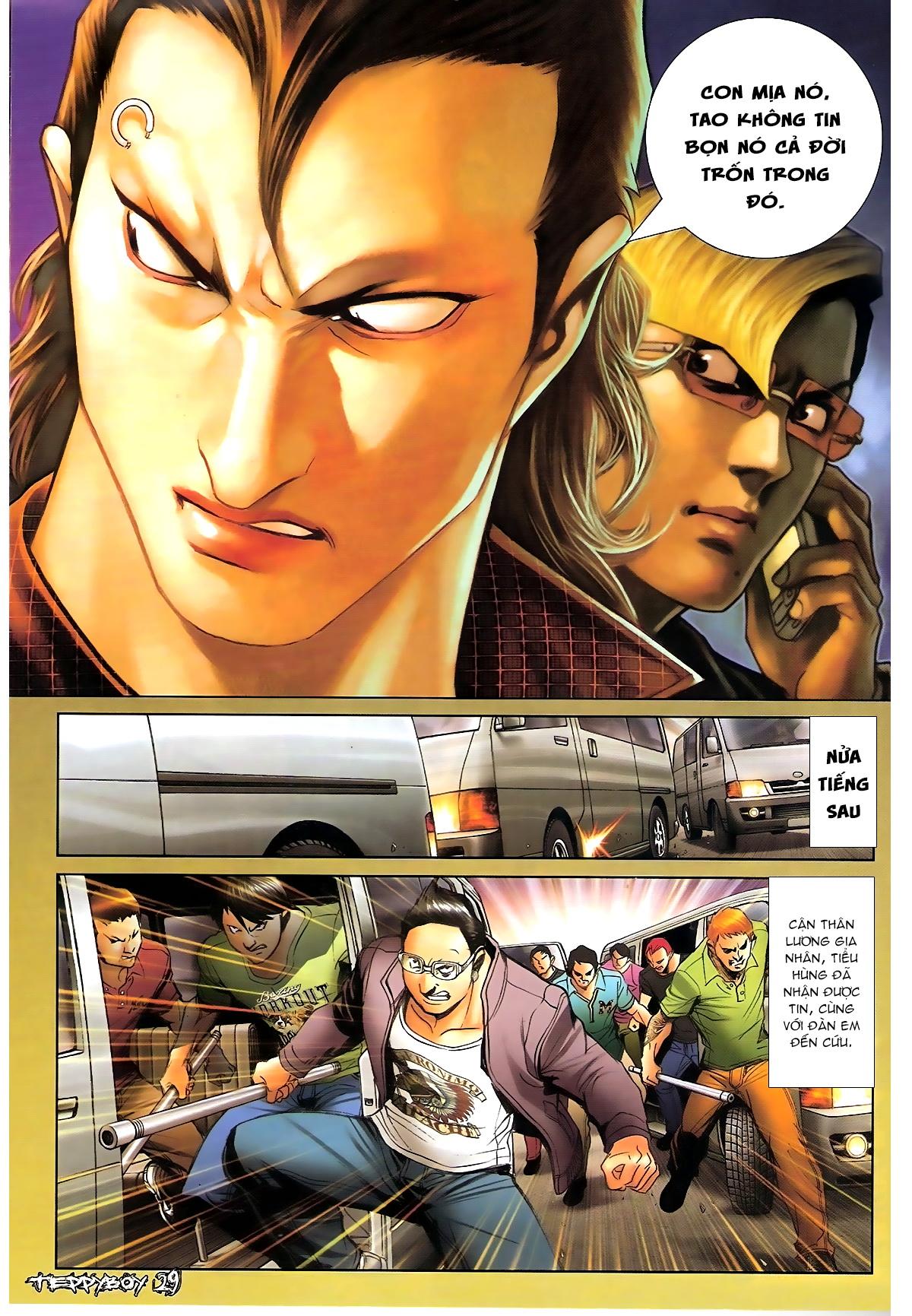 Người Trong Giang Hồ - Chapter 1329: Thằng hèn - Pic 26