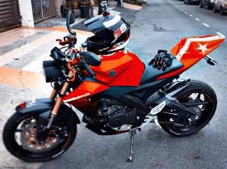 Yamaha FZ150i - Most Customizable bike in Malaysia Award